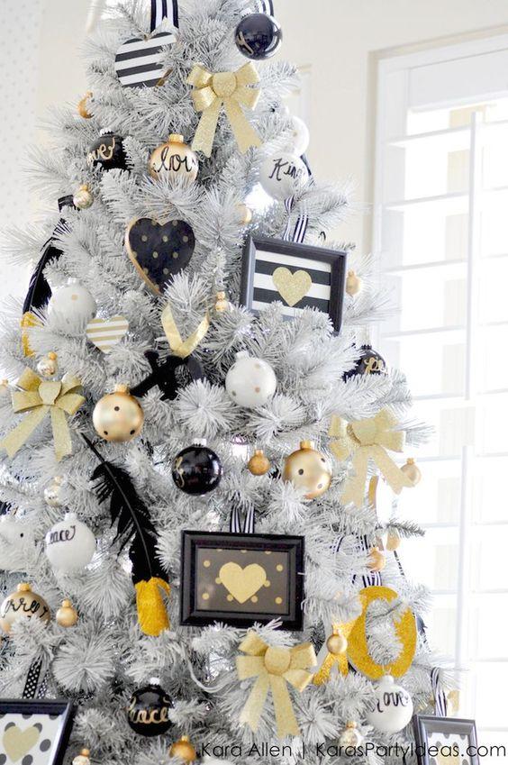 Mas de 200 fotos de arboles de navidad decorados originales tendencia 2018-2019 (192)