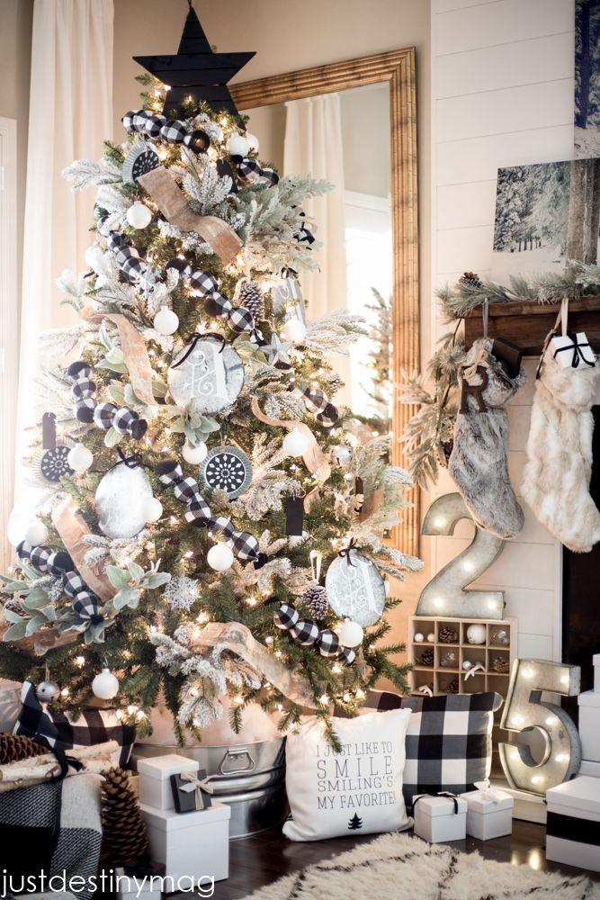 Mas de 200 fotos de arboles de navidad decorados originales tendencia 2018-2019 (198)