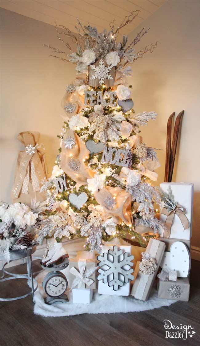 Mas de 200 fotos de arboles de navidad decorados originales tendencia 2018-2019 (200)