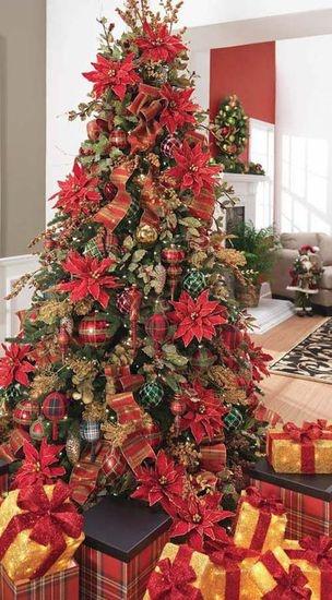 Mas de 200 fotos de arboles de navidad decorados originales tendencia 2018-2019 (222)