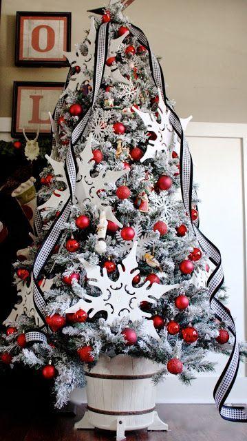 Mas de 200 fotos de arboles de navidad decorados originales tendencia 2018-2019 (243)
