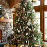 Mas de 200 fotos de arboles de navidad decorados originales tendencia 2018-2019 (265)