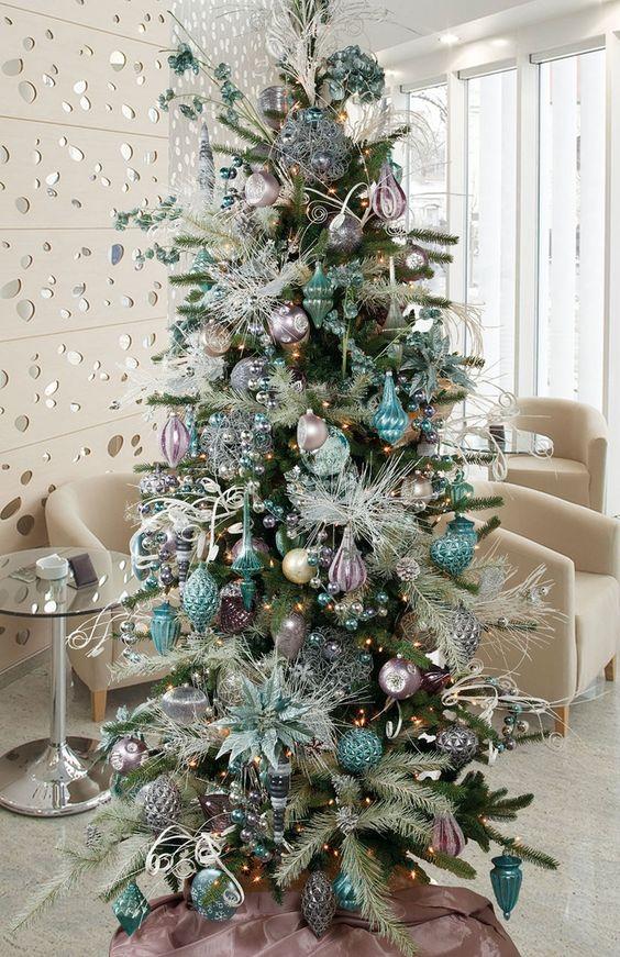 Mas de 200 fotos de arboles de navidad decorados - Fotos arboles navidad decorados ...