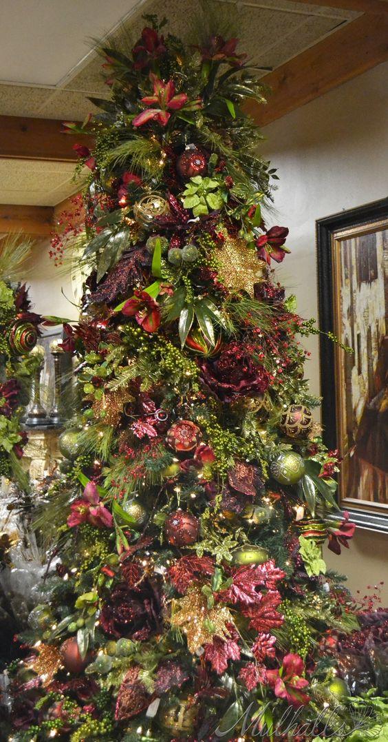 Mas de 200 fotos de arboles de navidad decorados - Arboles decorados ...