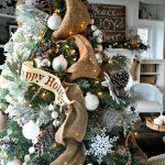 Mas de 200 fotos de arboles de navidad decorados originales tendencia 2018-2019 (298)