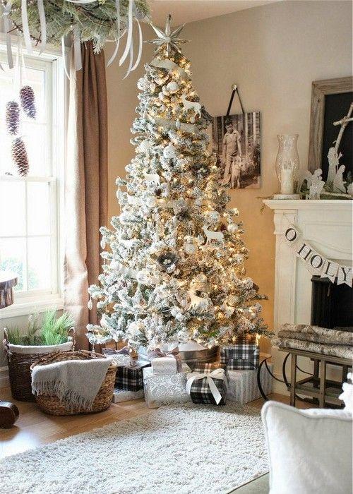 + de 200 fotos de Árboles de Navidad decorados originales tendencia 2018-2019