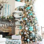 Mas de 200 fotos de arboles de navidad decorados originales tendencia 2018-2019 (304)