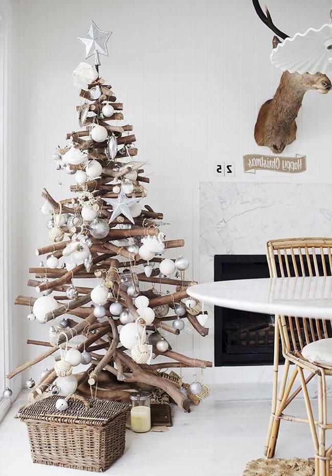 Mas de 200 fotos de arboles de navidad decorados originales tendencia 2018-2019 (318)