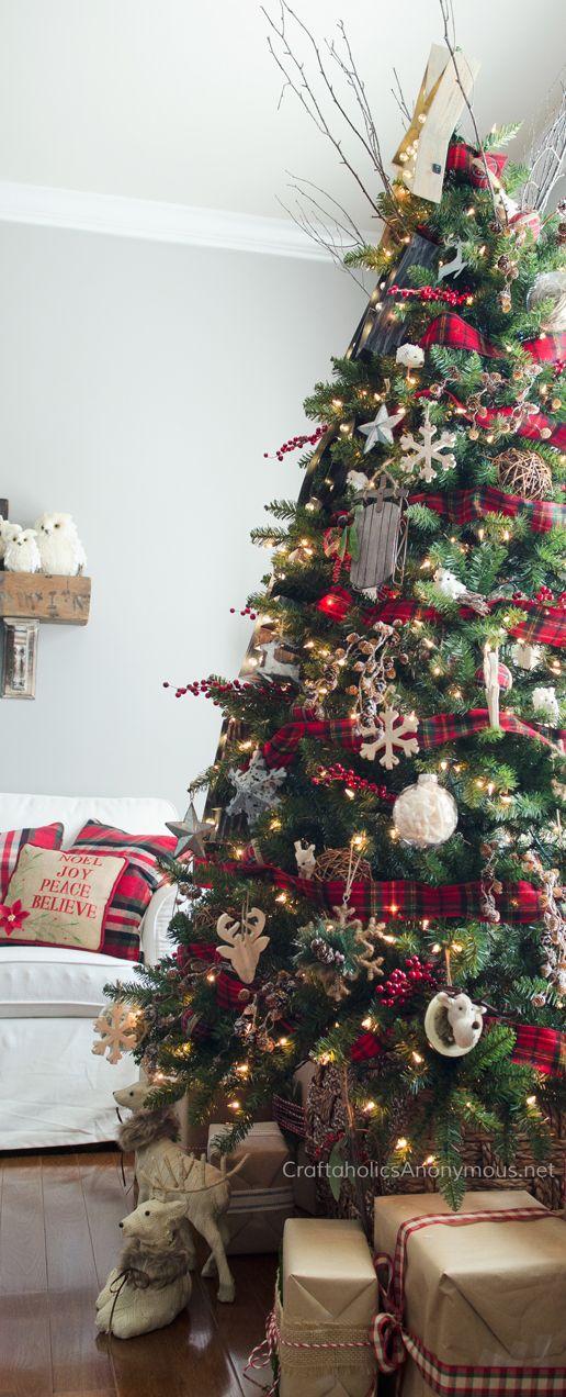 Mas de 200 fotos de arboles de navidad decorados originales tendencia 2018-2019 (88)