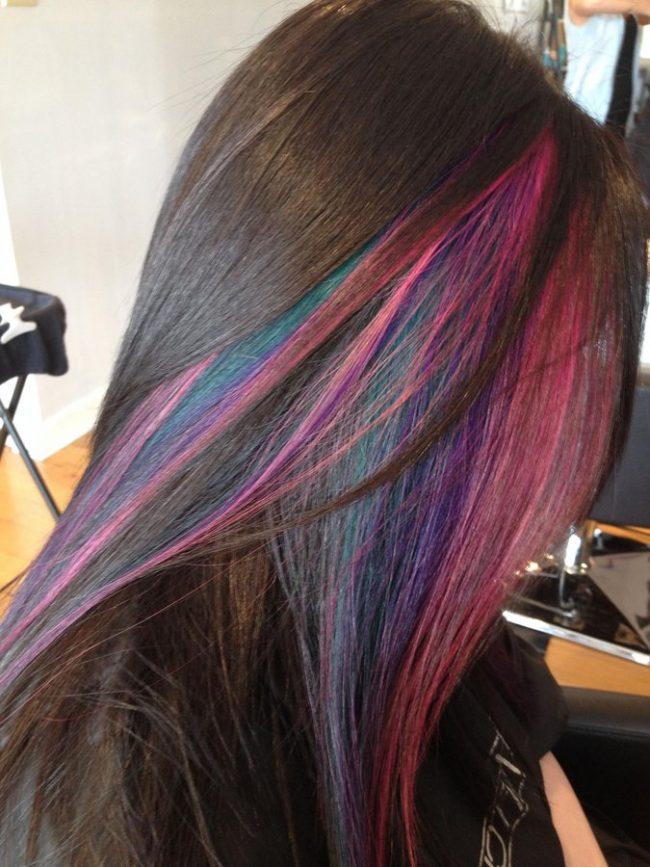 Mechas de colores (4)