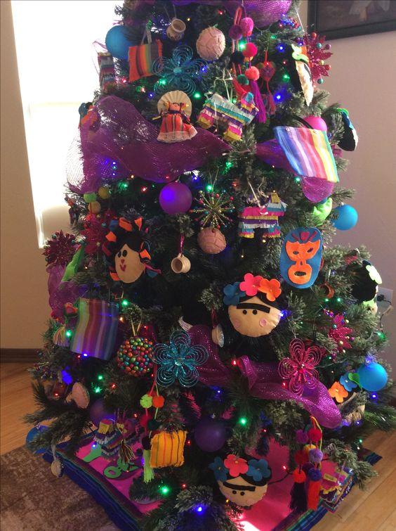 Idea Para Decorar Un Arbol De Navidad