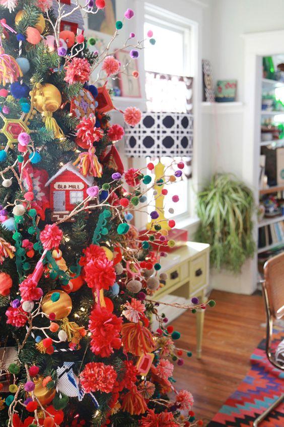 Pino De Navidad Mexicano Decoracion De Interiores
