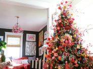 Decoración de Árbol de Navidad Estilo Mexicano