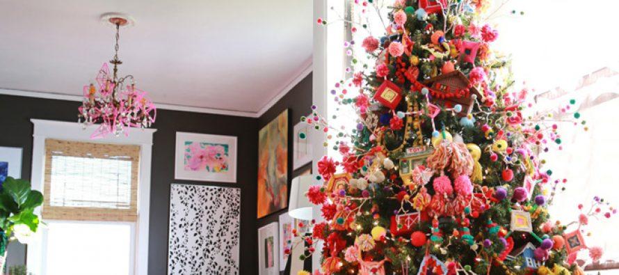 Decoración de un Árbol de Navidad Mexicano