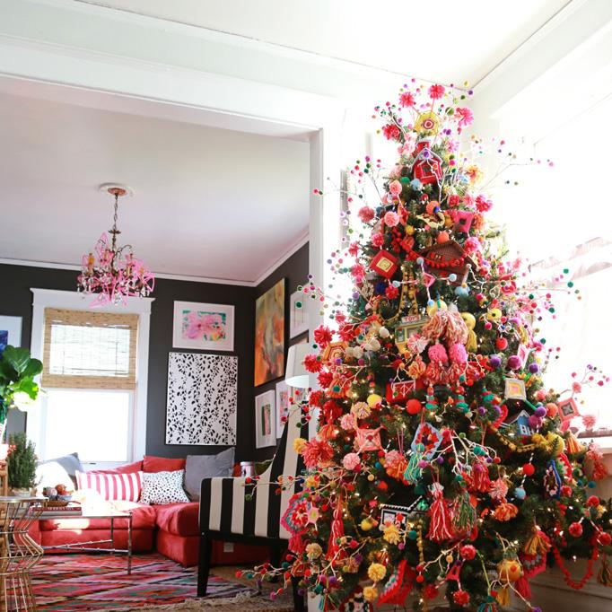 Arboles de navidad decoracion de interiores fachadas - Decoracion de interiores navidad ...