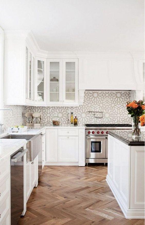 Que tipo de piso puedo añadir a la decoracion de cocinas (1)