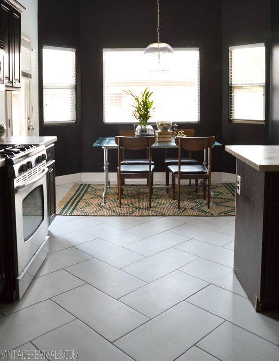 Que tipo de piso puedo añadir a la decoracion de cocinas (3)