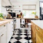Que tipo de piso puedo añadir a la decoracion de cocinas (5)