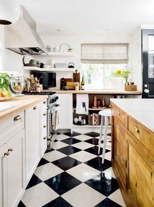 Decoracion de cocinas modernas 2018 de 160 fotos e for Que tipo de piso es mejor
