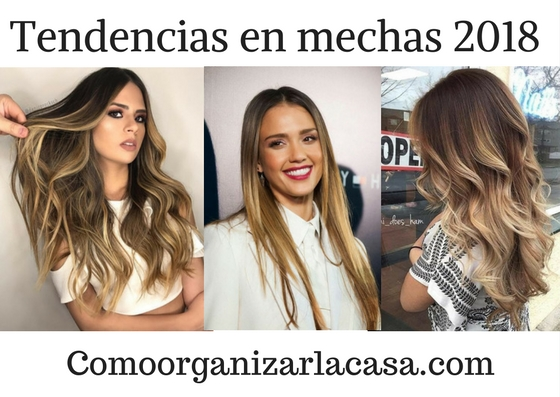 Tendencias en mechas 2018 decoracion de interiores for Tendencias terrazas 2018
