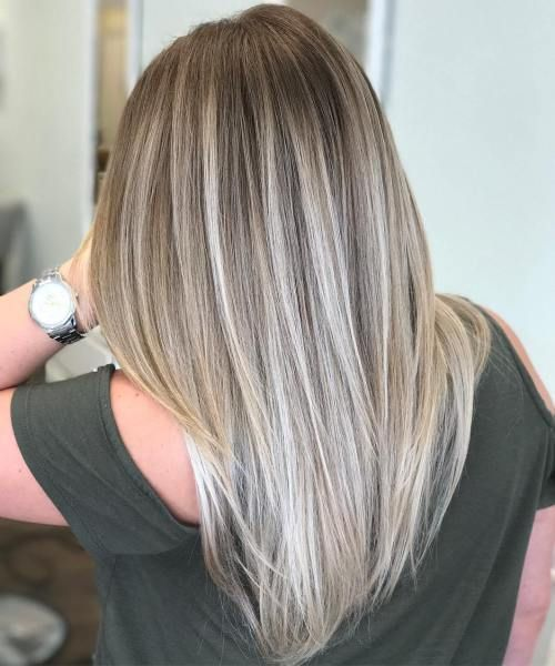 Tendencias en mechas para el cabello 2018 6 decoracion - Bano de color en mechas ...