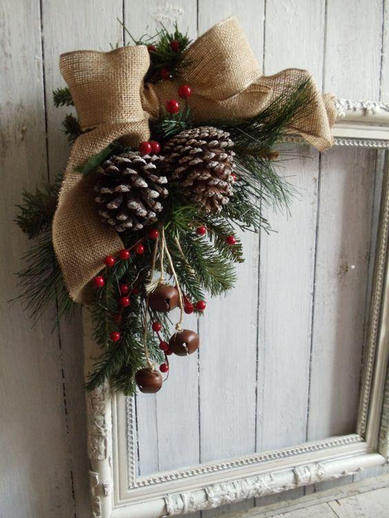 Adornos navide os con pi as tendencias para navidad 2018 - Adornos navidad con pinas ...