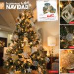 coleccion glitz para navidad 2018