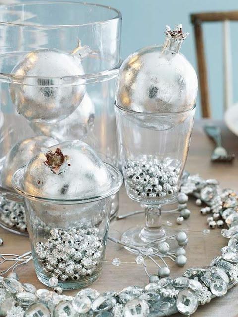 Centros de mesa de navidad decoracion de interiores - Adornos mesa navidad ...