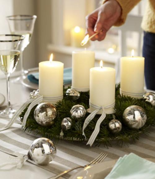 centros de mesa de navidad