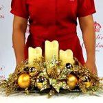 +de 25 Increibles Centros de Mesa de Navidad y Como Hacerlos (7)