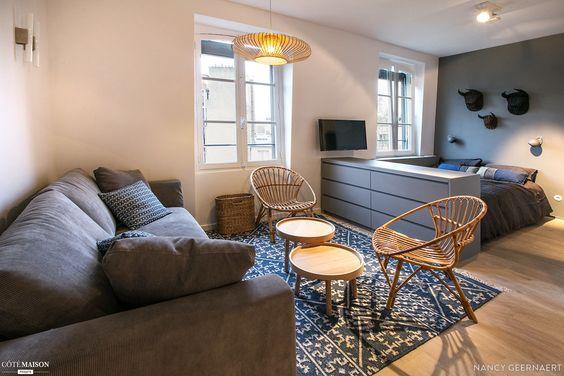 decoracion de apartamentos muy pequenos