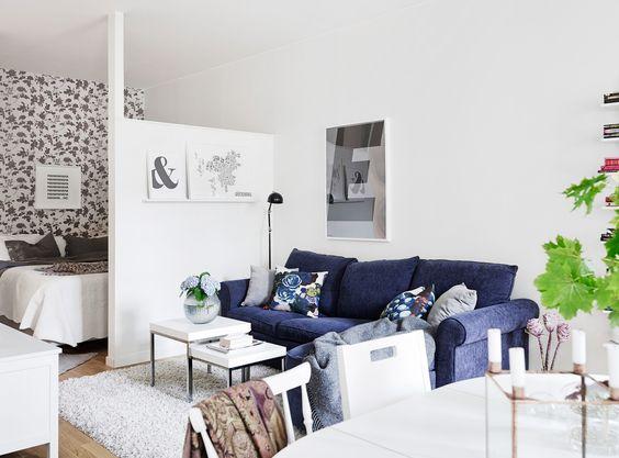 decoracion de apartamentos muy pequenos (4)