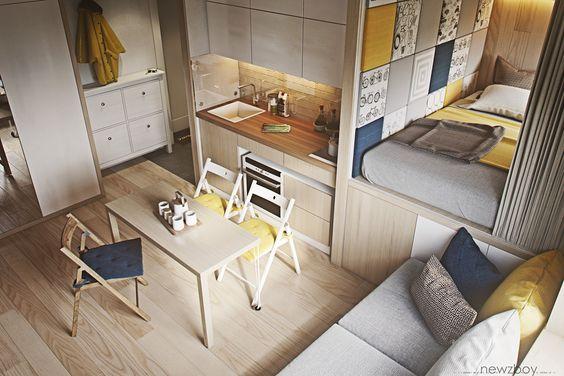 Decoracion de interiores de apartamentos pequenos 2 for Decoracion interiores apartamentos pequenos