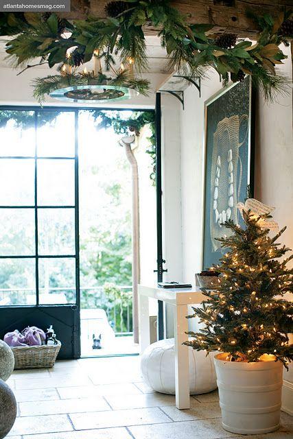 decoracion de un recibidor navideno (3)