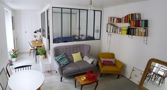 Ideas de decoraci n de departamentos peque os for Departamentos en espacios reducidos