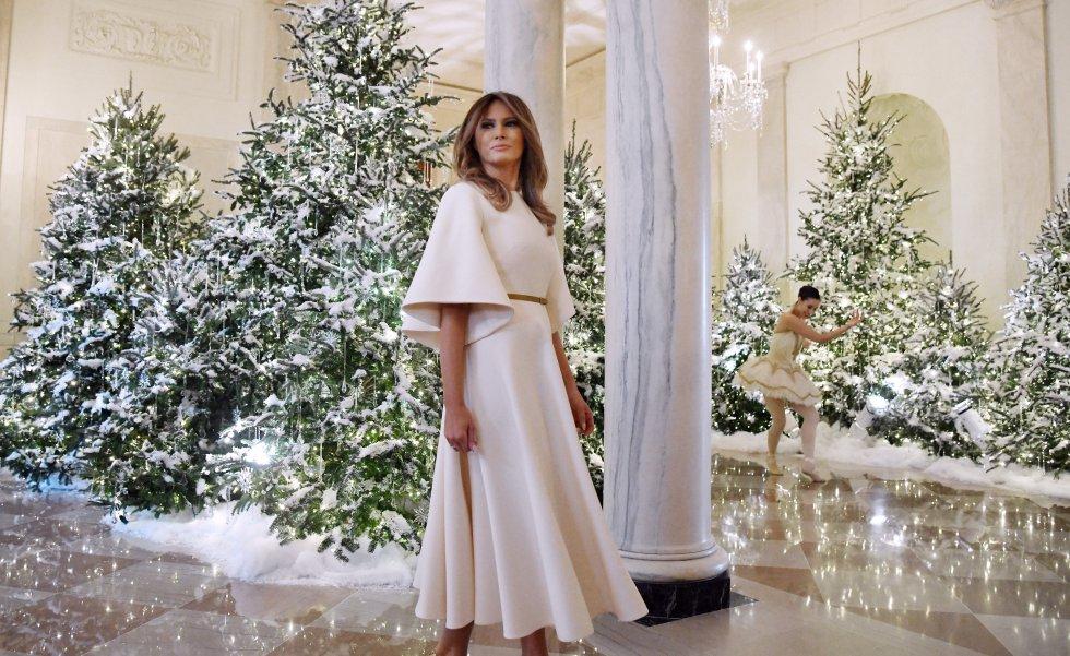 Donald Trump y la casa blanca