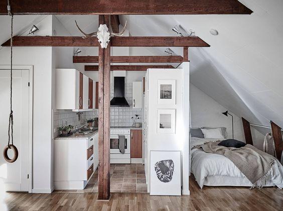 Ideas de decoraci n de departamentos peque os - Como amueblar un piso pequeno ...