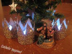 ideas para el arbol de navidad en el dia de reyes