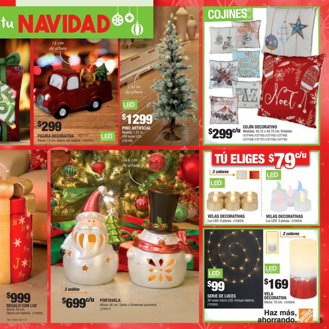 inspiremos tu navidad 2018 catalogo the home depot