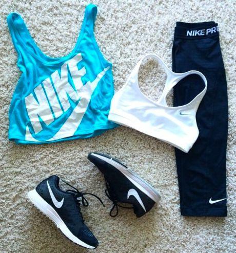 outfit para el gym nike 2018