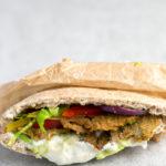 receta para preparar pan pita vegana
