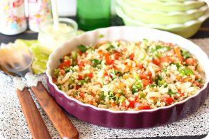 receta para vegetariano ensaladilla de bulgur (1)