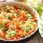 receta para vegetariano ensaladilla de bulgur (4)