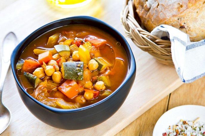 recetas para el invierno sopa de verduras