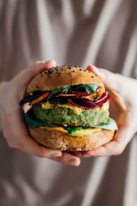 recetas para vegetarianos hamburguesas de calabacin