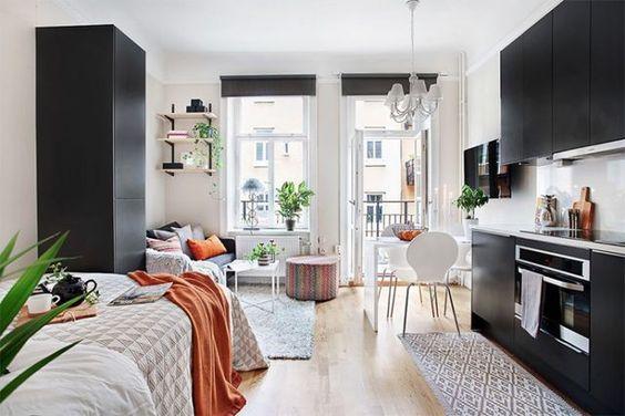 Ideas de decoraci n de departamentos peque os for Decorar casa 30m2