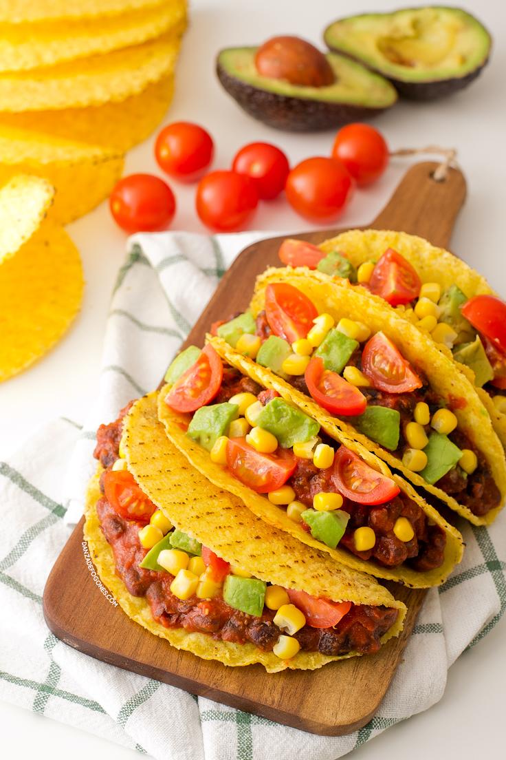 tacos vegetarianos preparados en 15 minutos (1)