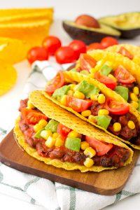 tacos vegetarianos preparados en 15 minutos (2)