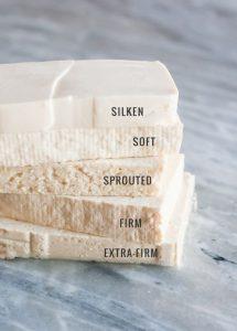 tofu para recetas vegetarianas