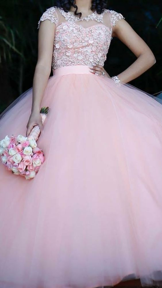 Stock princess dresses style 15 years (2)